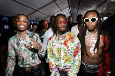 LOS ANGELES, CA - JUNE 25: Migos at the 2017 BET Awards at Staples Center on June 25, 2017 in Los Angeles, California. (Photo by Bennett Raglin/Getty Images for BET)