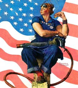 Rosie-The-Riveter-Norman-Rockwell-1943